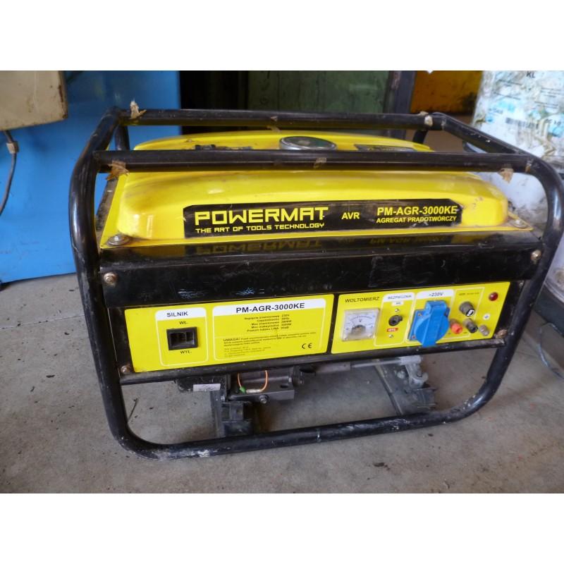 Generador Gasolina usado 3000 W