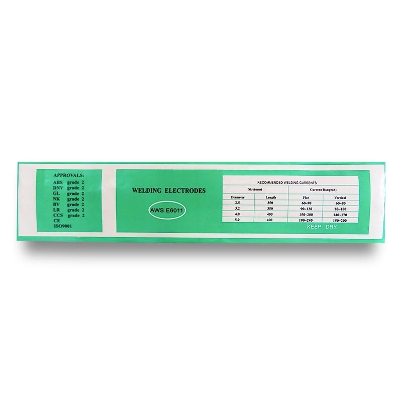 ELECTRODO E6011 (Pack 20 Kg)