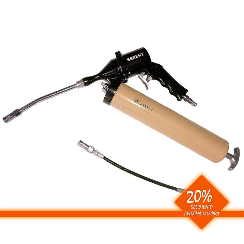 Engrasadora con pistola neumática 500 cc