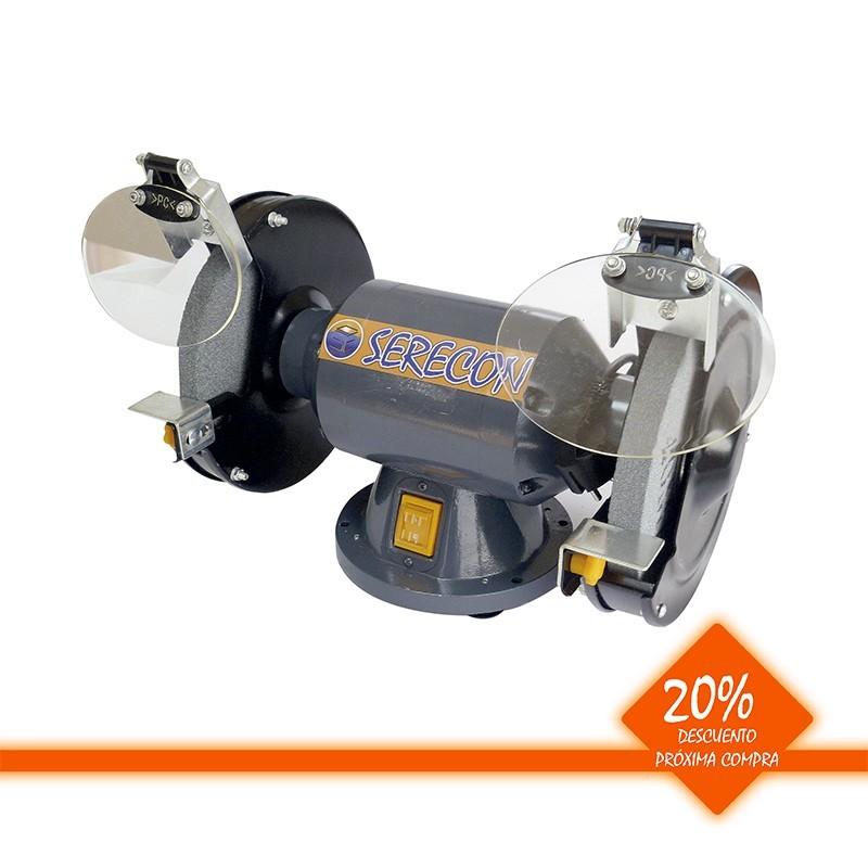 Esmeriladora estacionaria 150 W disco 150 mm