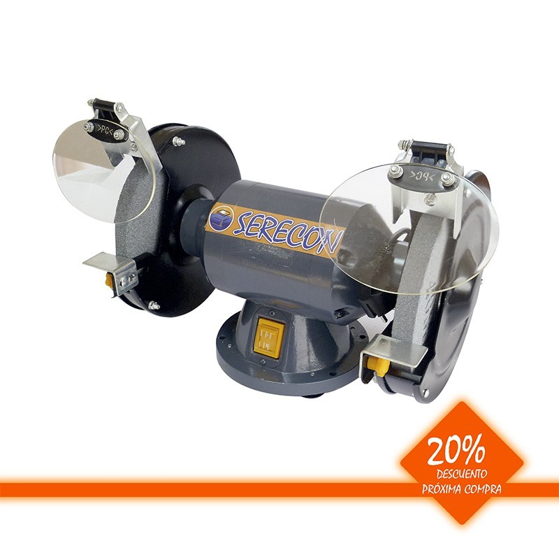 Esmeriladora estacionaria 350 W disco 150 mm
