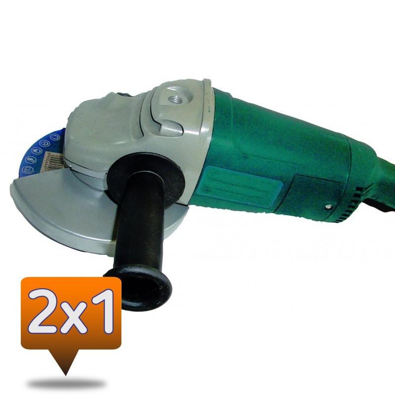 AMOLADORA 2350-Ø180mm 2X1