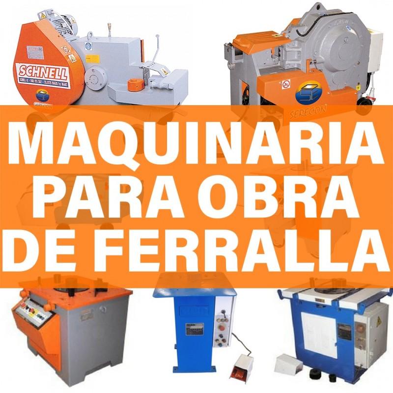 ALQUILER MAQUINA OBRA FERRALLA