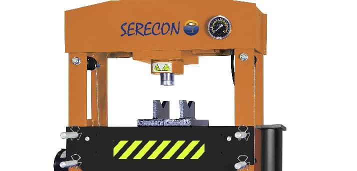 Prensa hidráulica de 50 toneladas Serecon